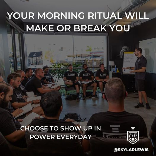 choose to show up in power everyday